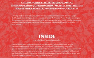 """DRAWING IN STONE"", O projeto ""Primeira Pedra"" no Museu Nacional dos Coches"